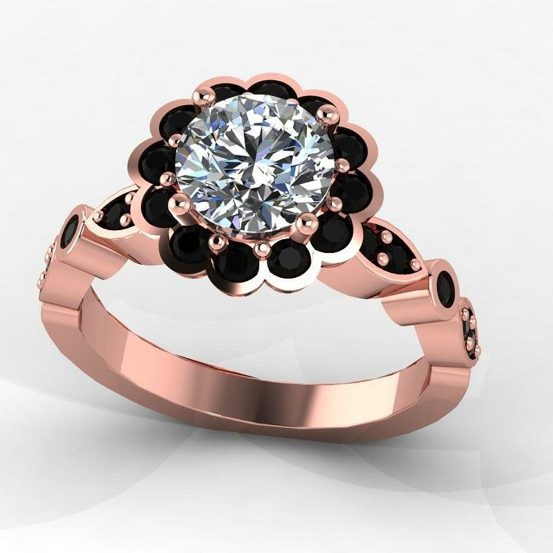 15 Beautiful Diamond Rings From Top Pins Mostbeautifulthings