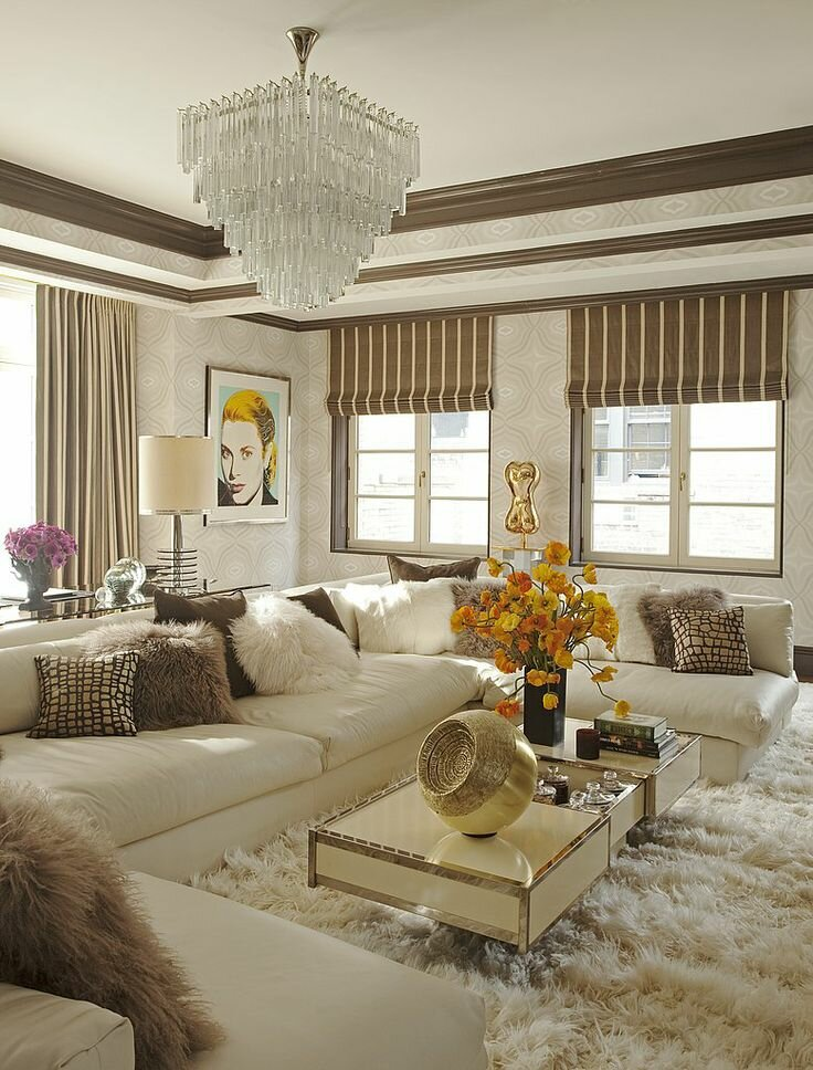 15 beautiful living room examples mostbeautifulthings for Living room decor