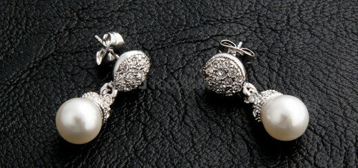 beautiful pearl earrings 12