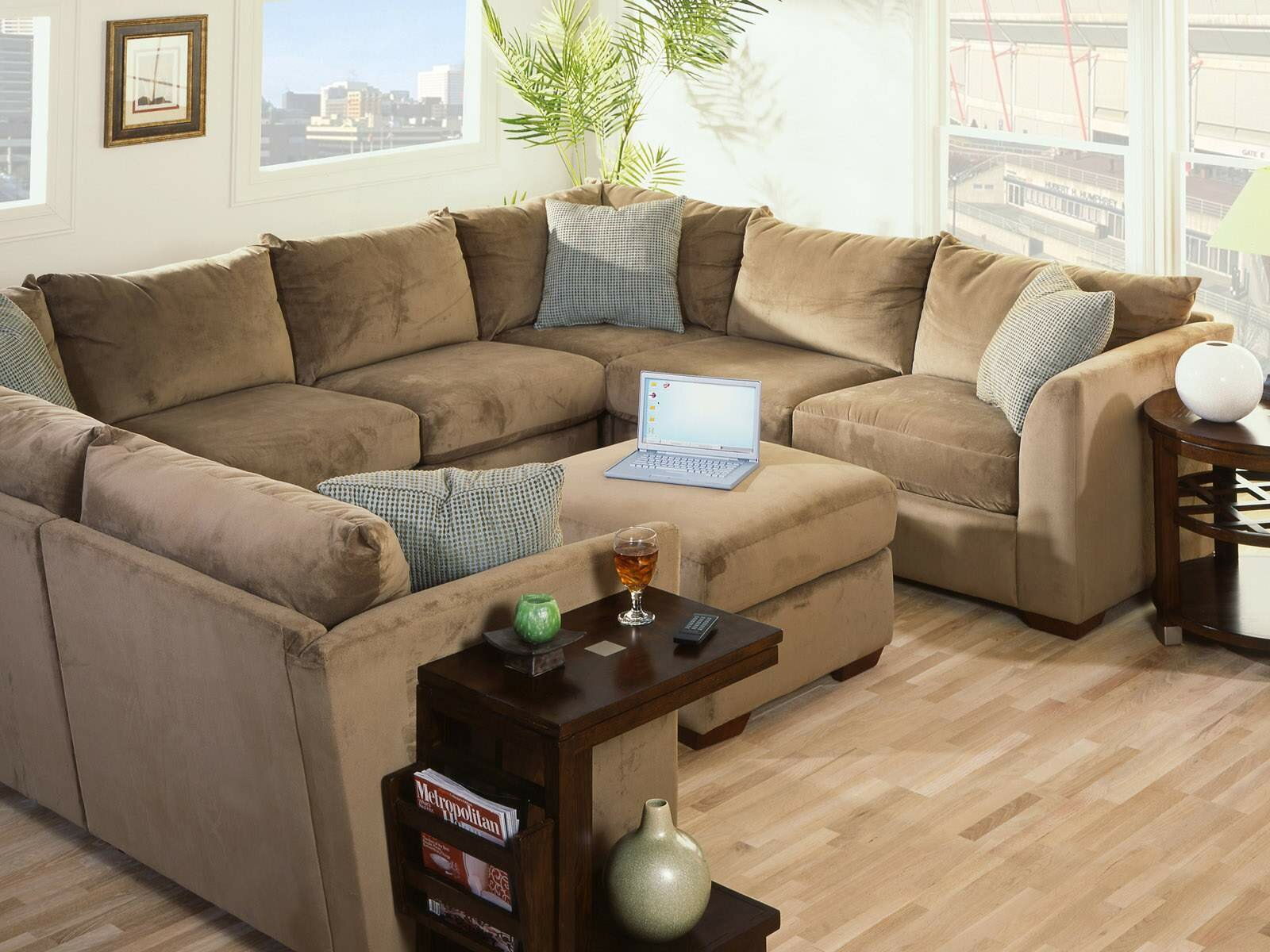 15 really beautiful sofa designs and ideas for Sectional living room ideas