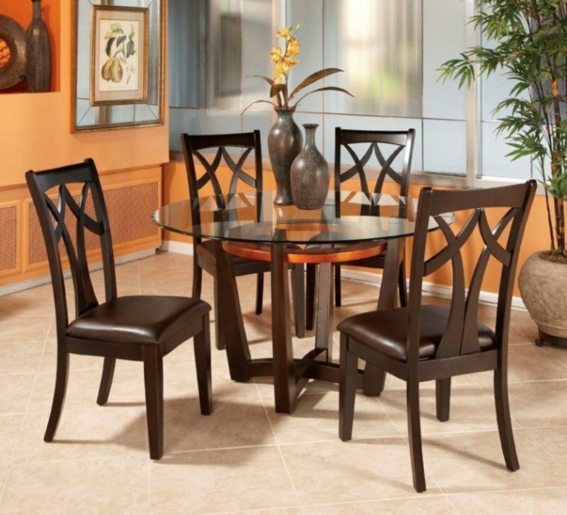Small Round Kitchen Table. Pier  Imports SimonTable Base Java