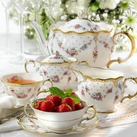 17 Beautiful Tea Sets Top Shared On Pinterest