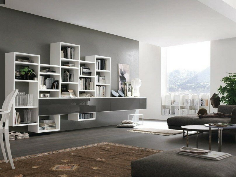 16 decorative bookcase designs and ideas mostbeautifulthings room - Bookcase Design Ideas