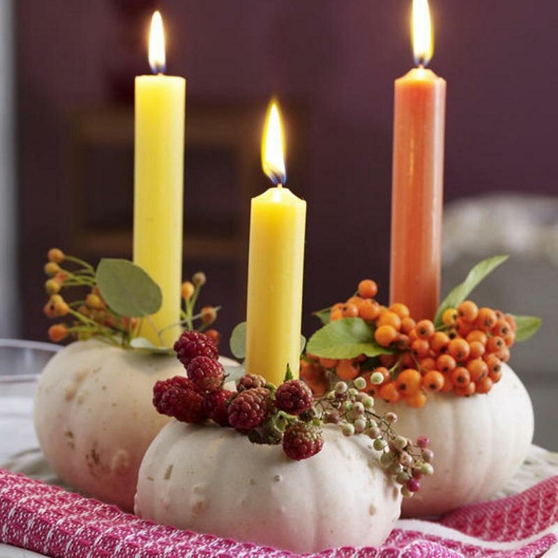 Great ideas of decorating with candles