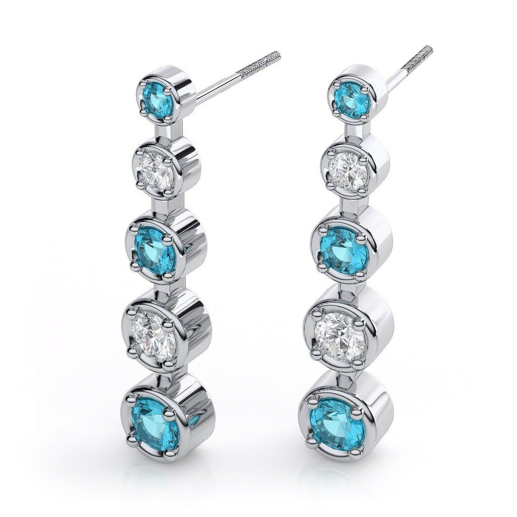 diamond earrings designs 11