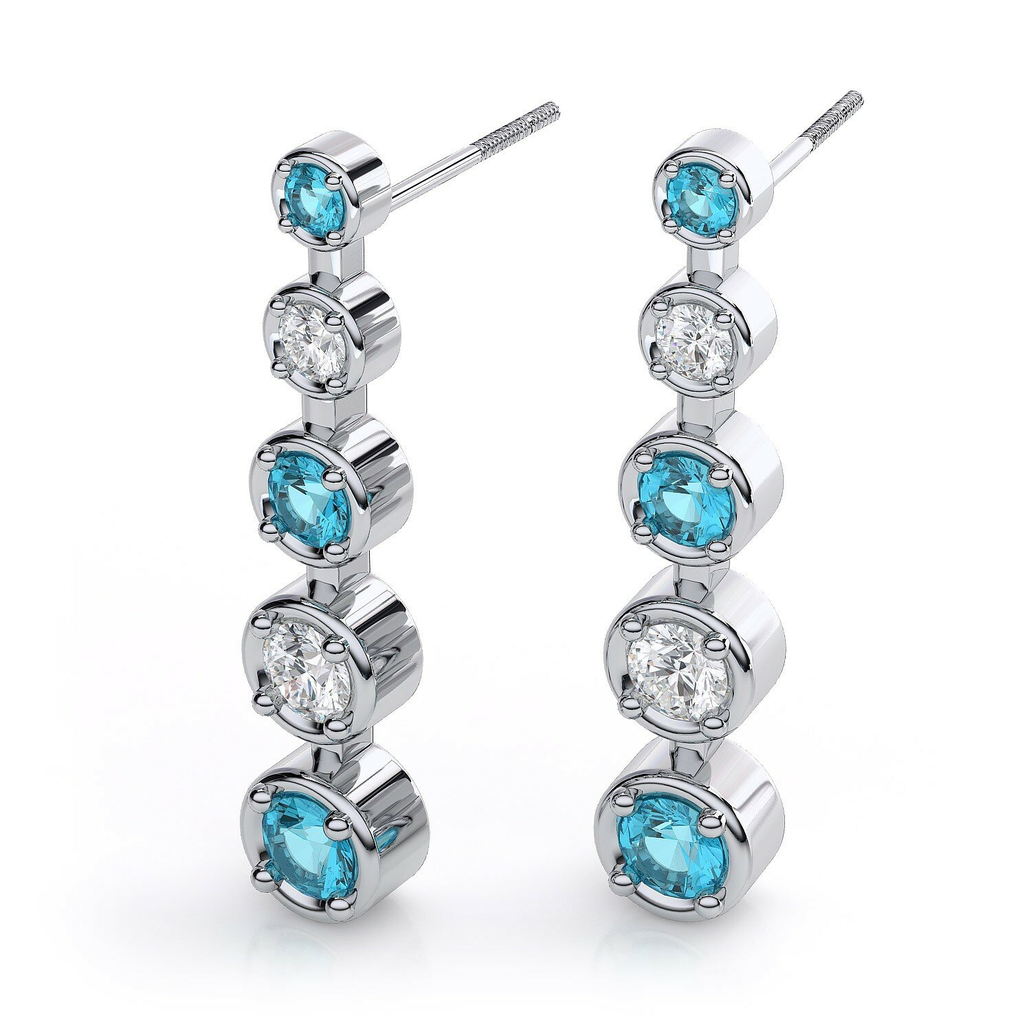 loved diamond earrings designs with 15 pics
