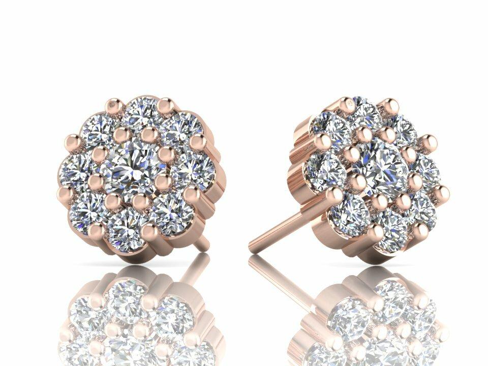 Diamond Earrings Designs 6