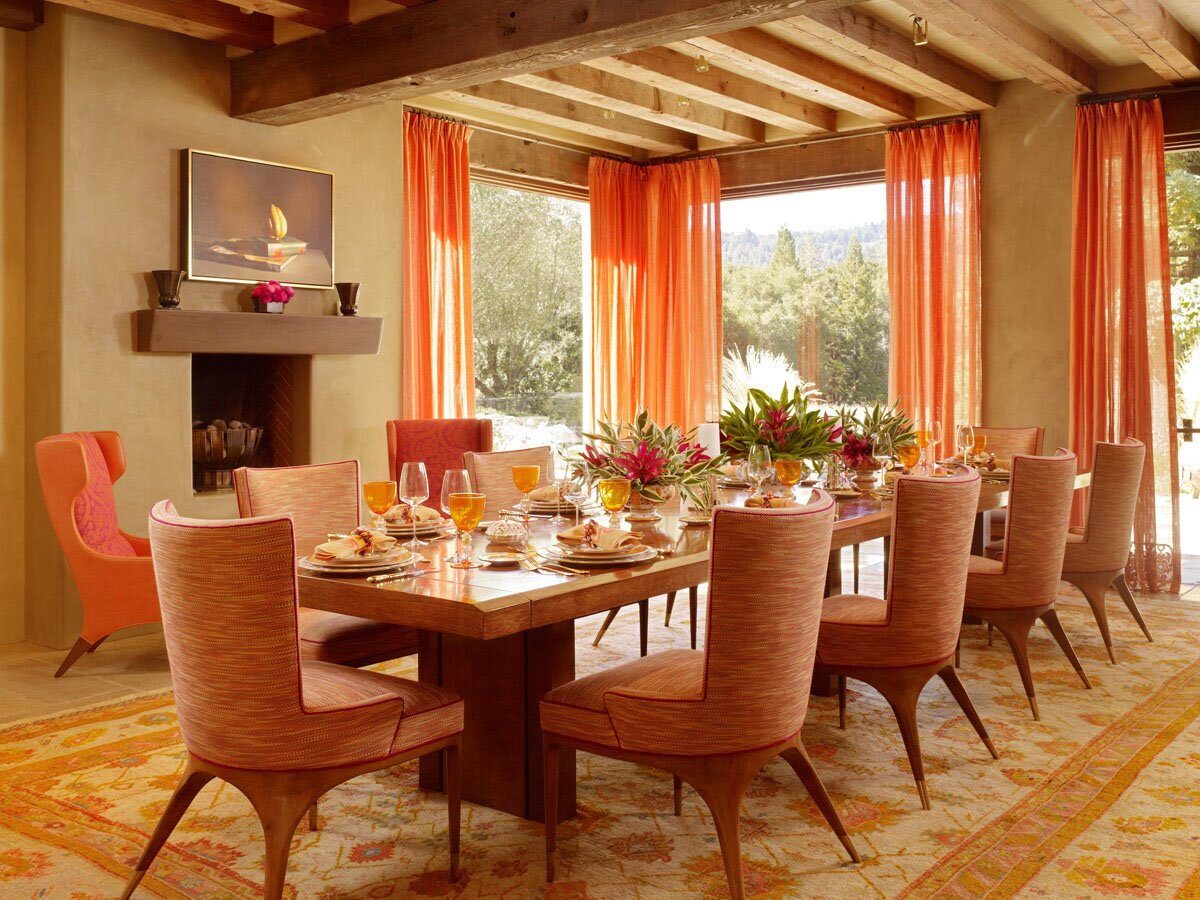 The 15 best dining room decoration photos for Homes with beautiful dining rooms