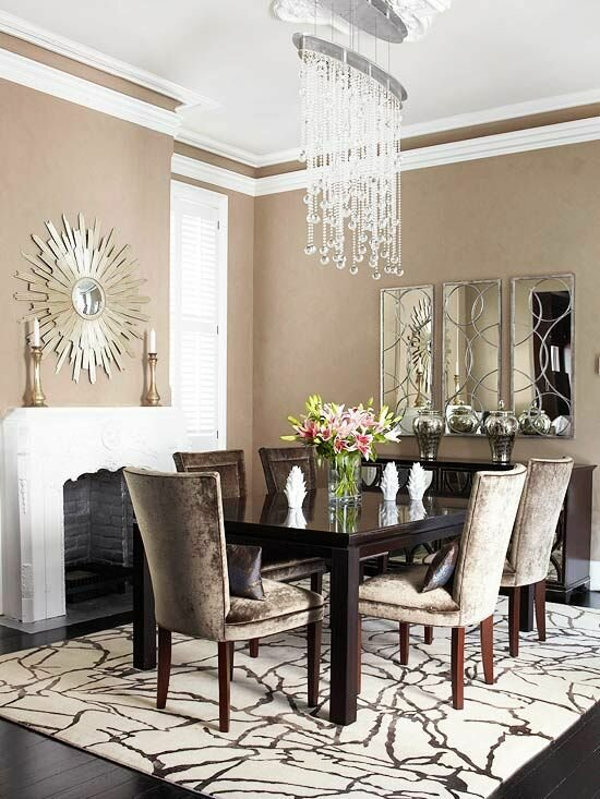 The 15 best dining room decoration photos for Most beautiful dining rooms