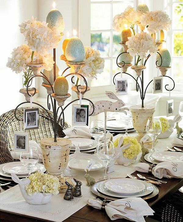 15 dining table decoration samples mostbeautifulthings for Dining table decoration ideas home