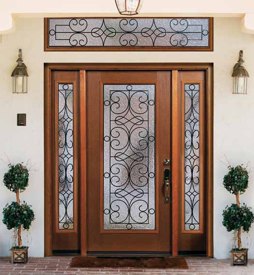 Top 15 exterior door models and designs mostbeautifulthings for Entry door with window
