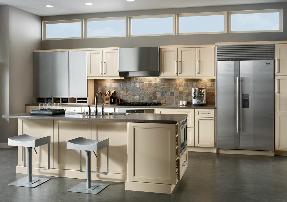 Different kitchen design ideas different home design for Different kitchen design ideas