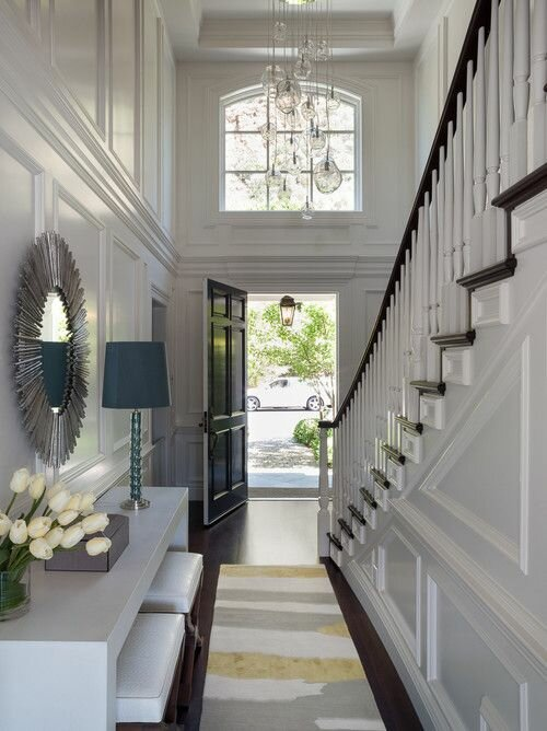 15 loved hallway decorating ideas mostbeautifulthings for Hall decoration ideas for home