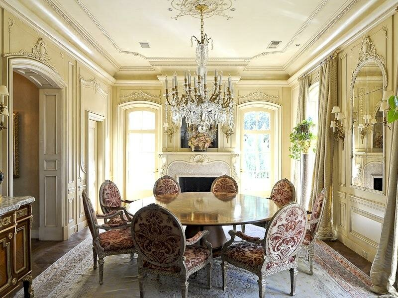 Inspiring home decorating ideas in 15 photos for Most beautiful dining rooms