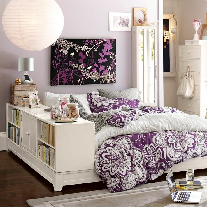 Inspiring home decorating ideas in 15 photos mostbeautifulthings - A nice bed and cover for teenage girls or room ...