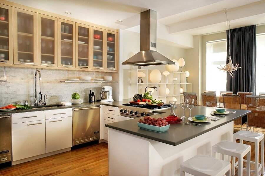 Inspiring home decorating ideas in 15 photos for The most beautiful kitchen designs