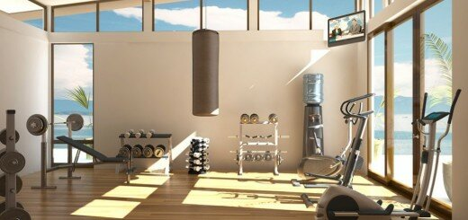 home fitness room 10