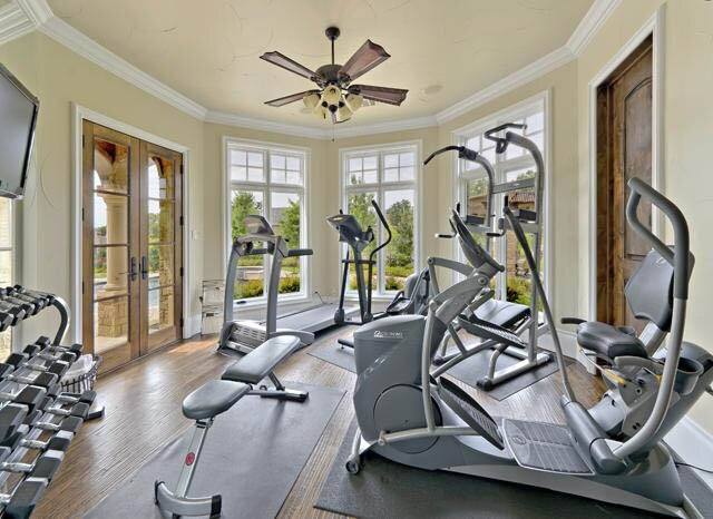 Home fitness room design examples mostbeautifulthings