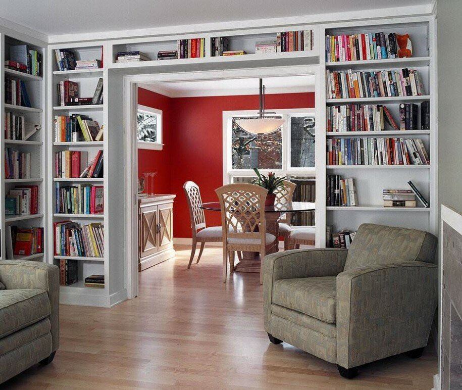 Home Library Design 15 home library design examples | mostbeautifulthings