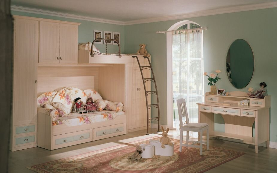 15 kids room decorating ideas and samples mostbeautifulthings. Black Bedroom Furniture Sets. Home Design Ideas