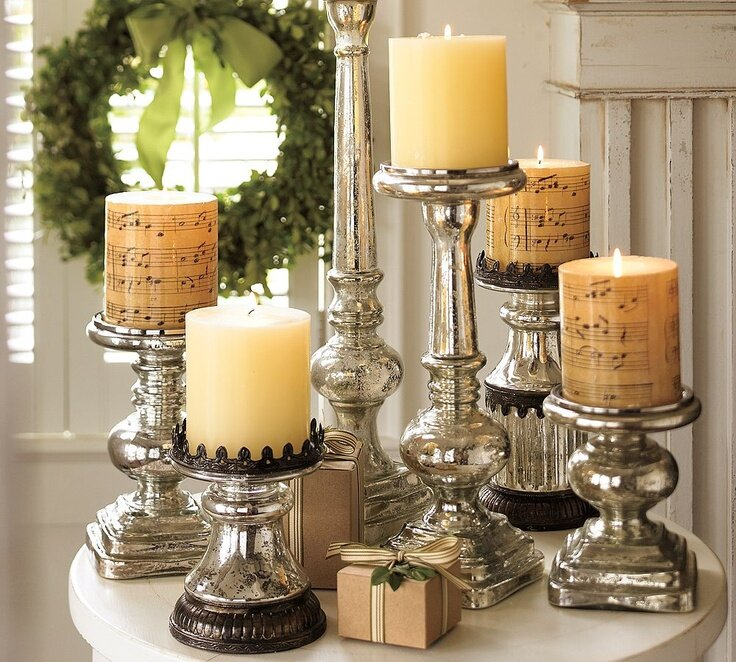Most beautiful candlesticks in 16 photos mostbeautifulthings Home decor candlesticks