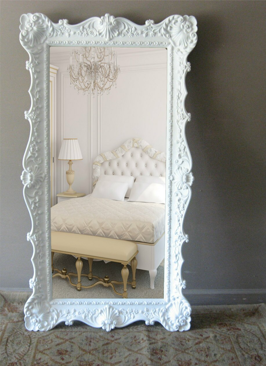The 16 most beautiful mirrors ever mostbeautifulthings for Large mirror for bedroom wall