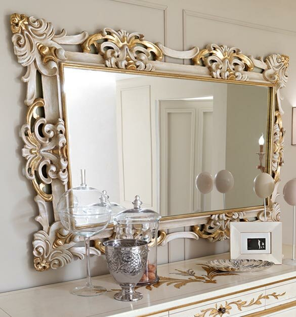A Beautiful Mirror Vintage for The Entry or The Bedroom