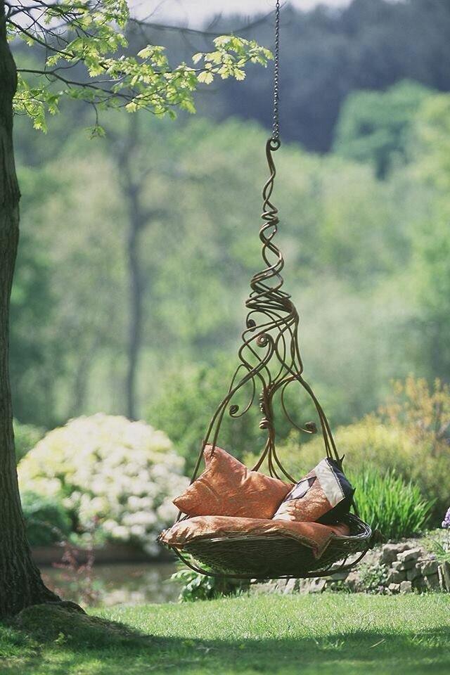 21 Most Beautiful Swings In The World Mostbeautifulthings - garden swing flower designs