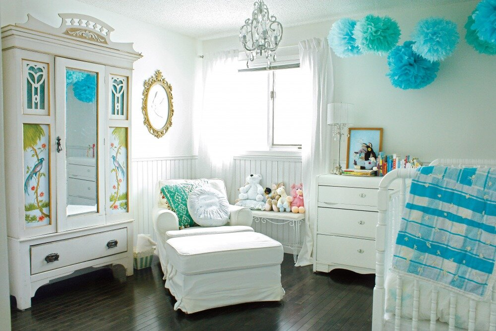 Nursery decorating ideas with 16 inspiring pics for Nursery theme ideas