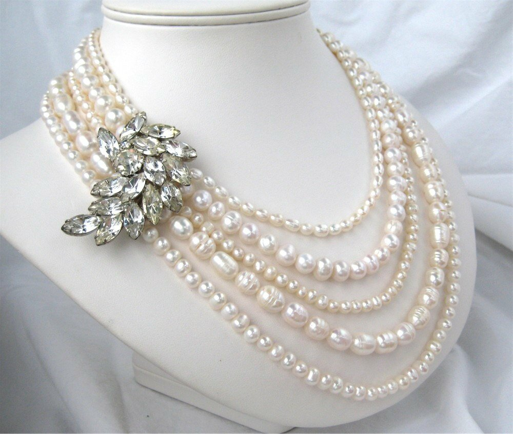 14 Most Elegant Pearl Necklace Designs Really | MostBeautifulThings