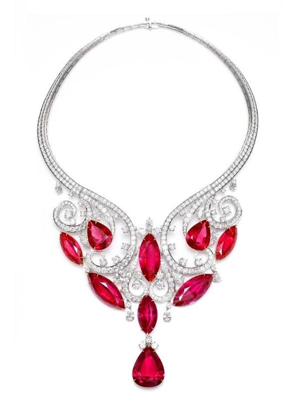 ruby necklaces 10
