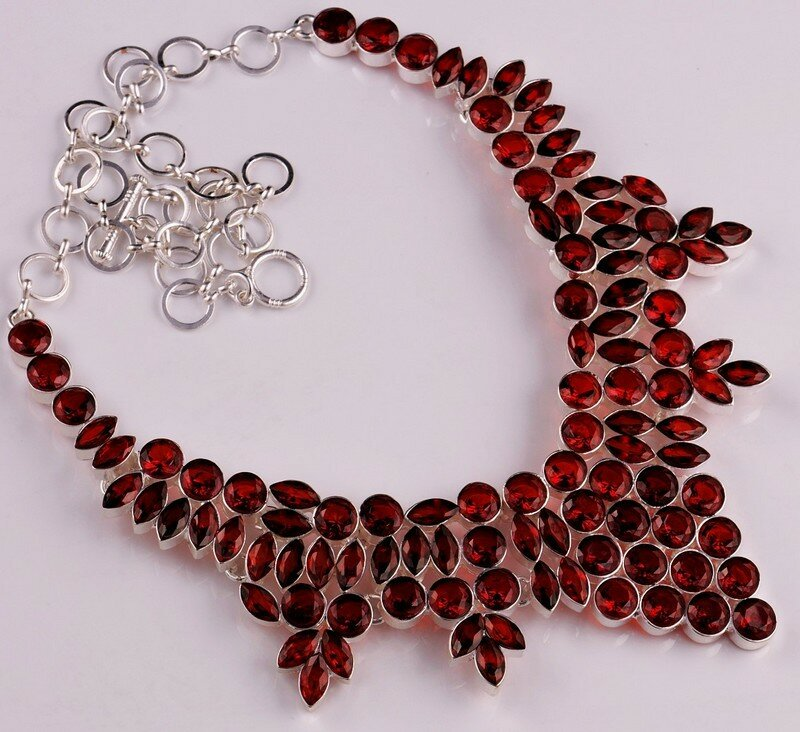 ruby necklaces 12