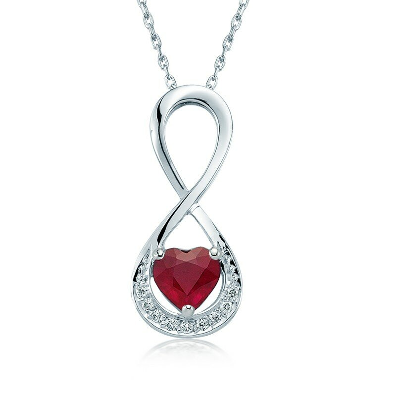 ruby necklaces 9