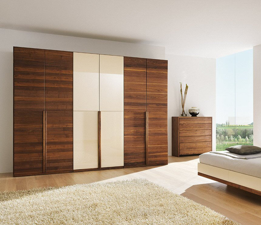 15 inspiring wardrobe models for bedrooms - Beautiful bedroom built in cupboards ...
