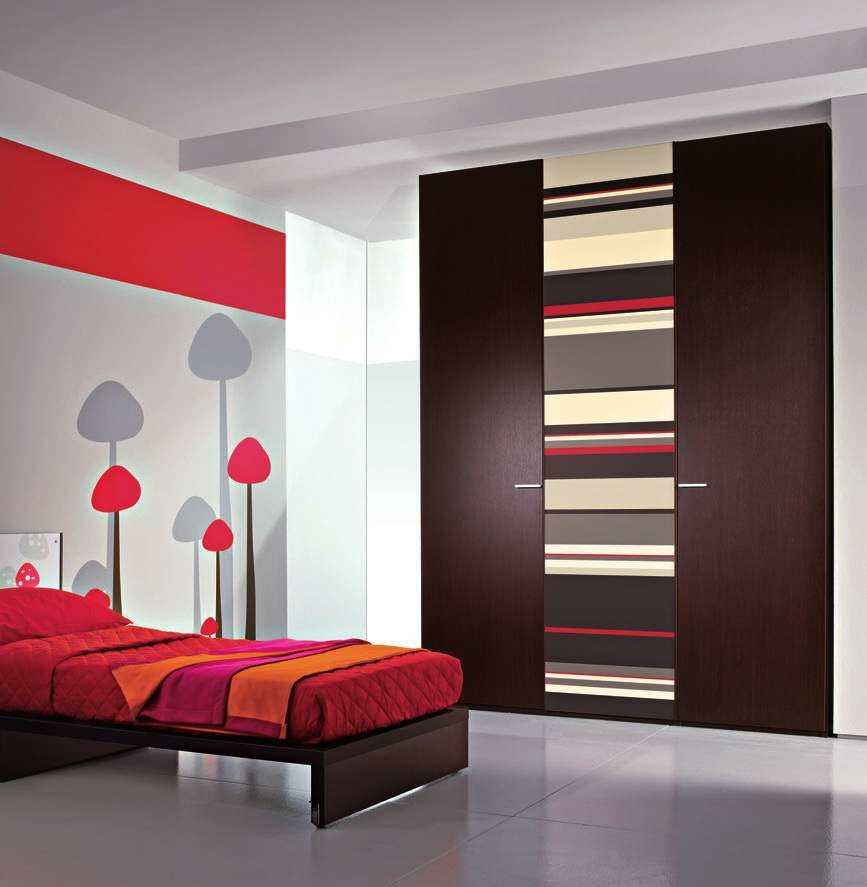 15 inspiring wardrobe models for bedrooms. Black Bedroom Furniture Sets. Home Design Ideas