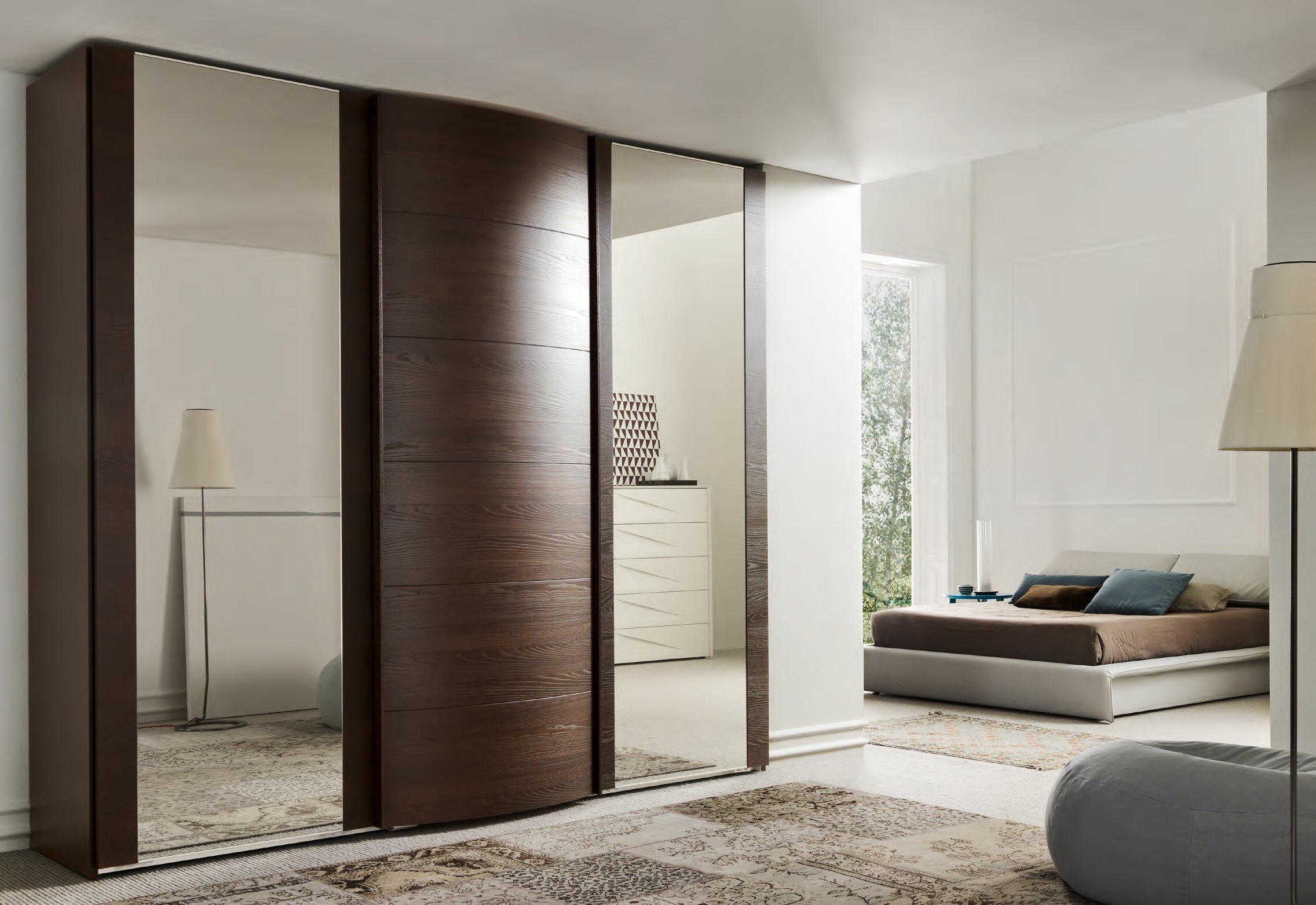 15 inspiring wardrobe models for bedrooms for Modele chambre 2018