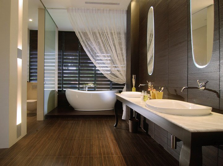 Top bathroom design ideas in 22 examples mostbeautifulthings for Pretty bathroom decorating ideas