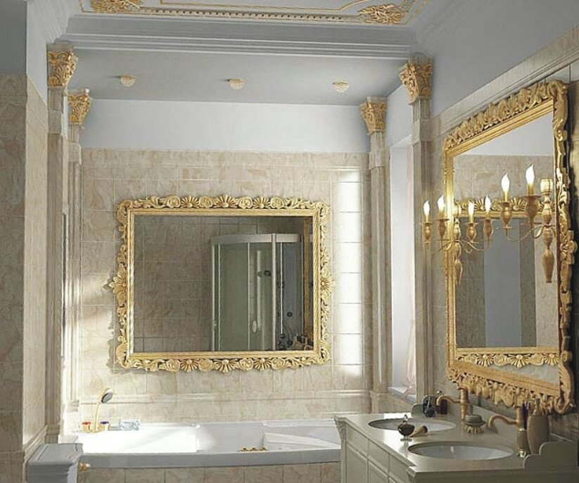 bathroom mirror ideas 12