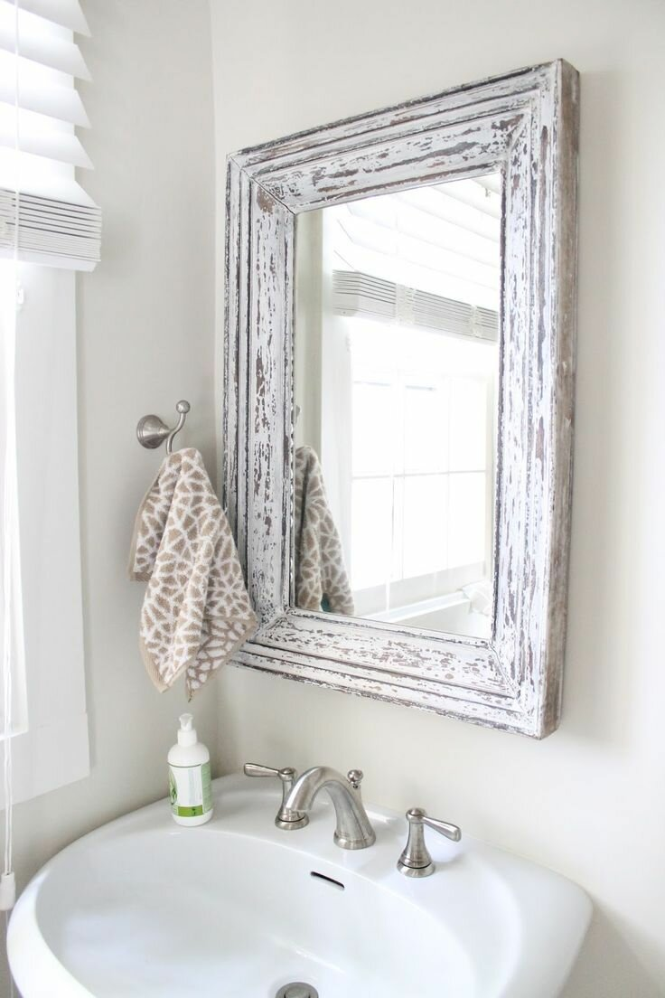 Top 19 bathroom mirror ideas and designs mostbeautifulthings for Bathroom things