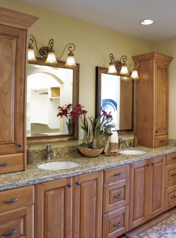 Bathroom Remodel Ideas In Best Examples MostBeautifulThings - Bathroom remodel double sink vanity