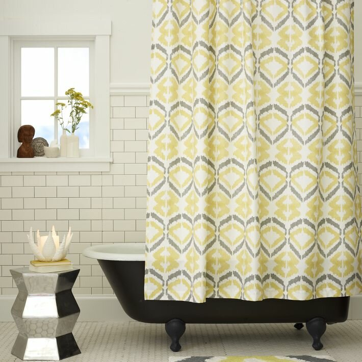 20 Bathroom Shower Curtains That Will Inspire You | MostBeautifulThings