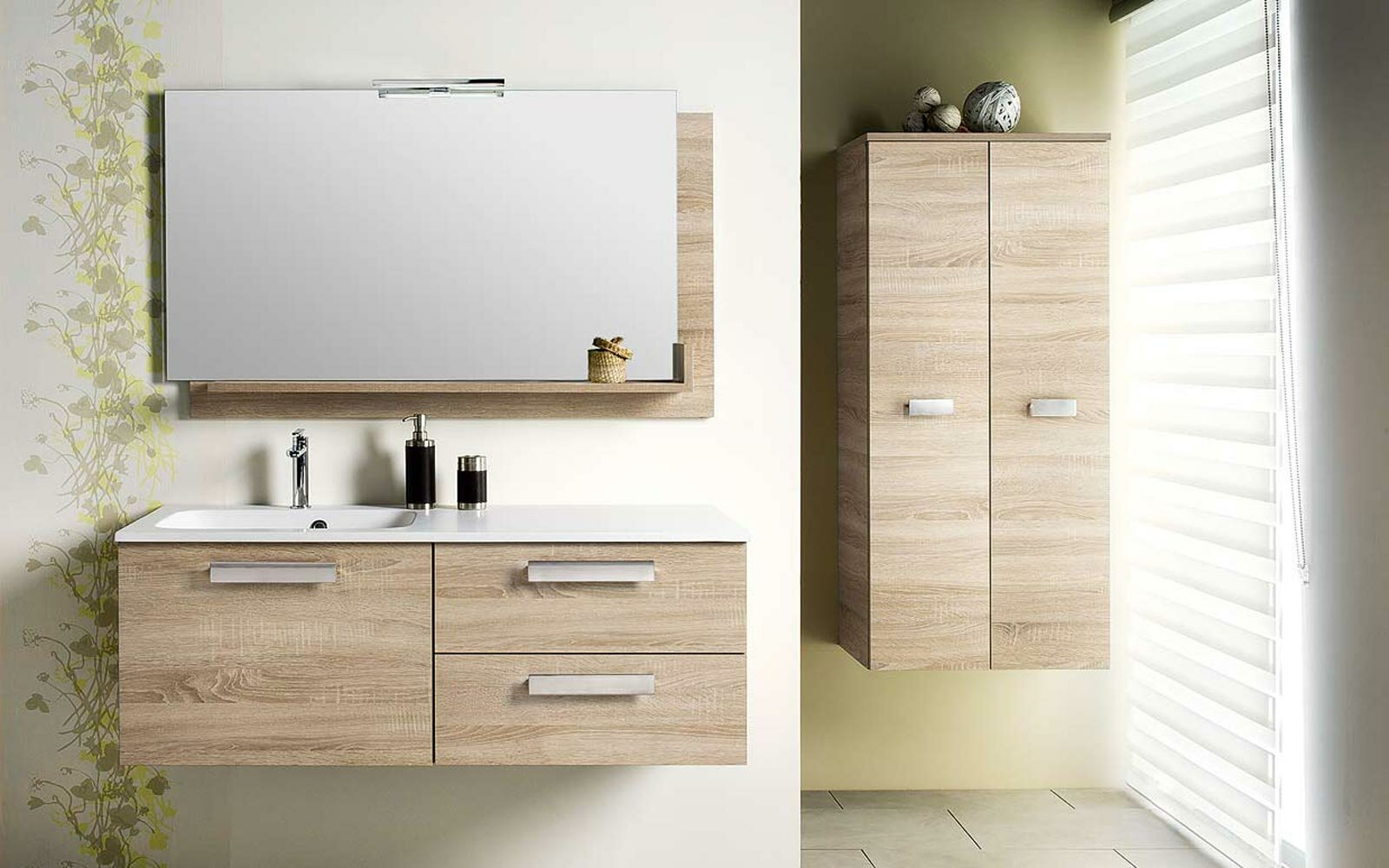 The 22 best bathroom sink cabinet designs for Cabinet salle de bain