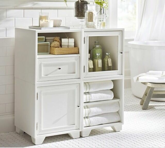 19 best designs of bathroom storage cabinets for Furniture ideas for bathroom