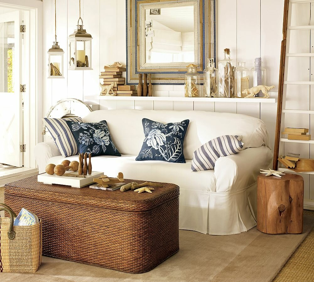 Top 21 beach home decor examples mostbeautifulthings for House decor accessories