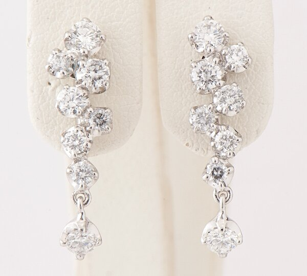 Beautiful Diamond Earrings 5