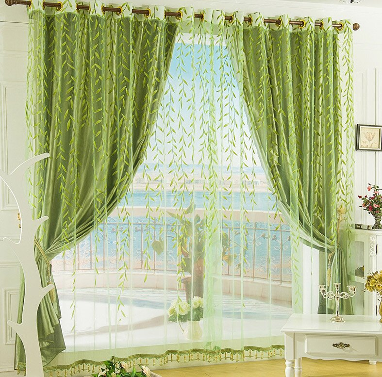 The 23 best bedroom curtain ideas with photos for Bedroom curtain designs photos