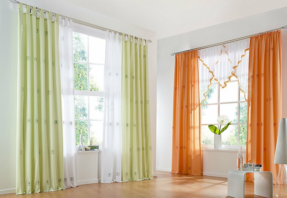 Curtain Style In Bedroom | low budget interior design
