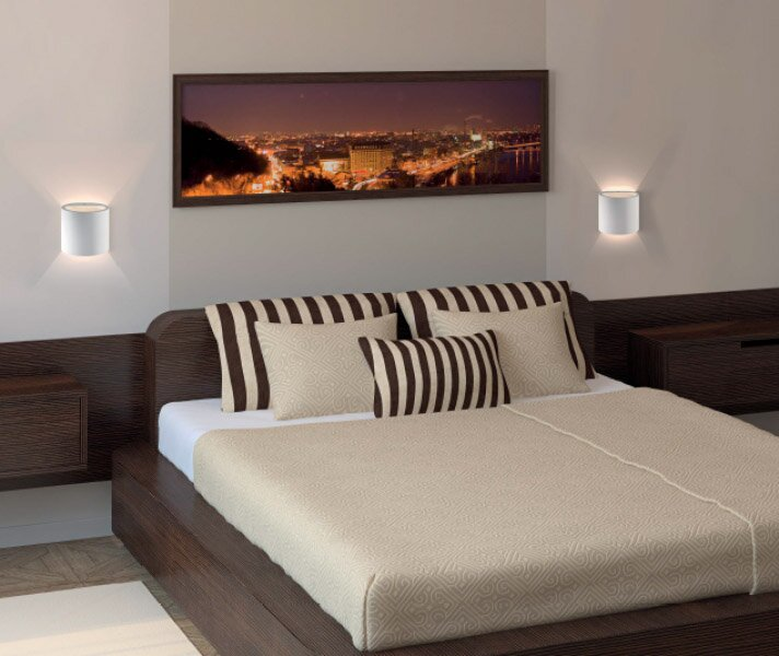 14 examples of wall lights effect in bedroom decor mostbeautifulthings - Applique da camera da letto ...