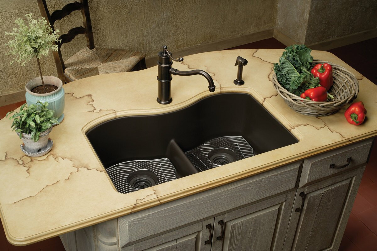 black sinks kitchen top 15 black kitchen sink designs mostbeautifulthings 1707