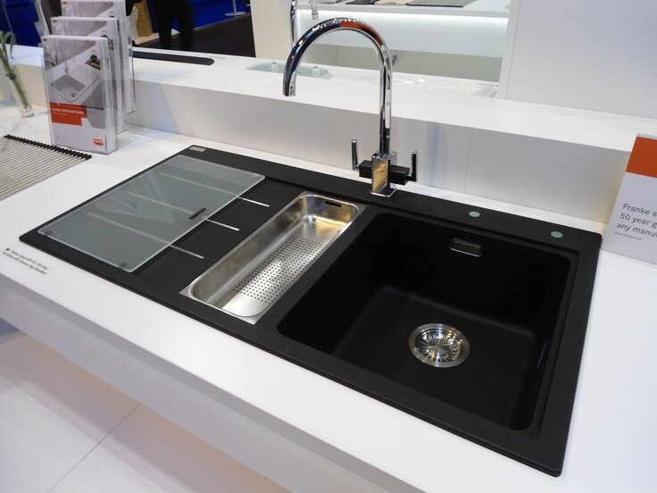 Kitchensinks : Top 15 Black Kitchen Sink Designs MostBeautifulThings